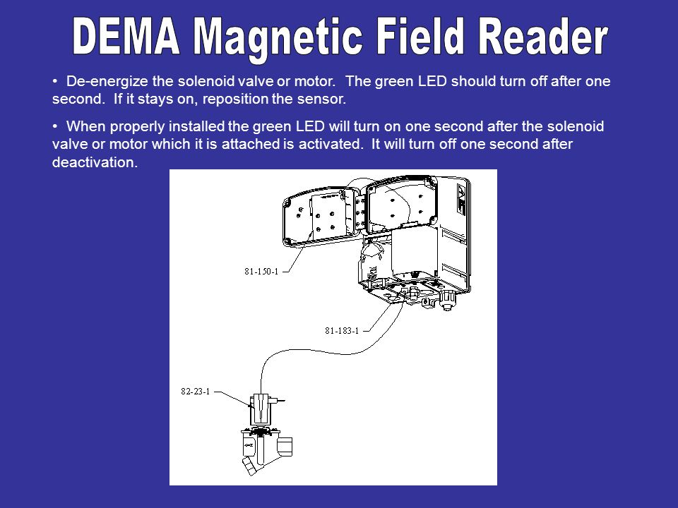 DEMA Magnetic Field Reader