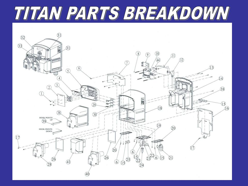 TITAN PARTS BREAKDOWN