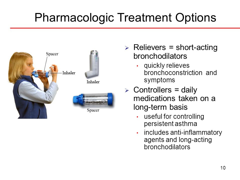 Pharmacologic Treatment Options