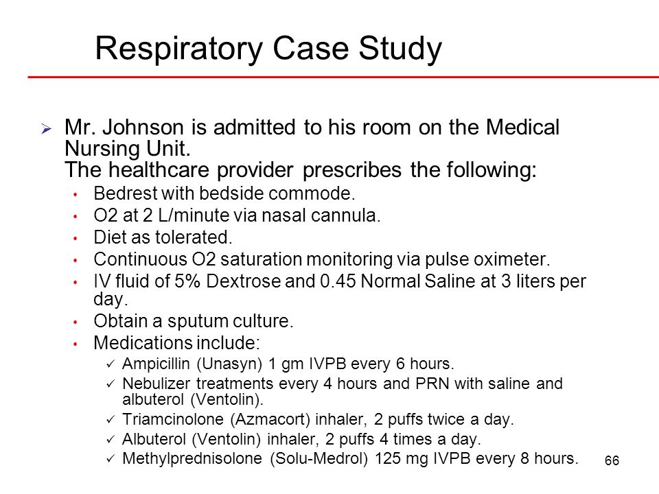 nursing case study respiratory system Respiratory system case studies: he can talk in sentences but his respiratory asthma-community case study for pharmacist pharmacy case study respiratory system.