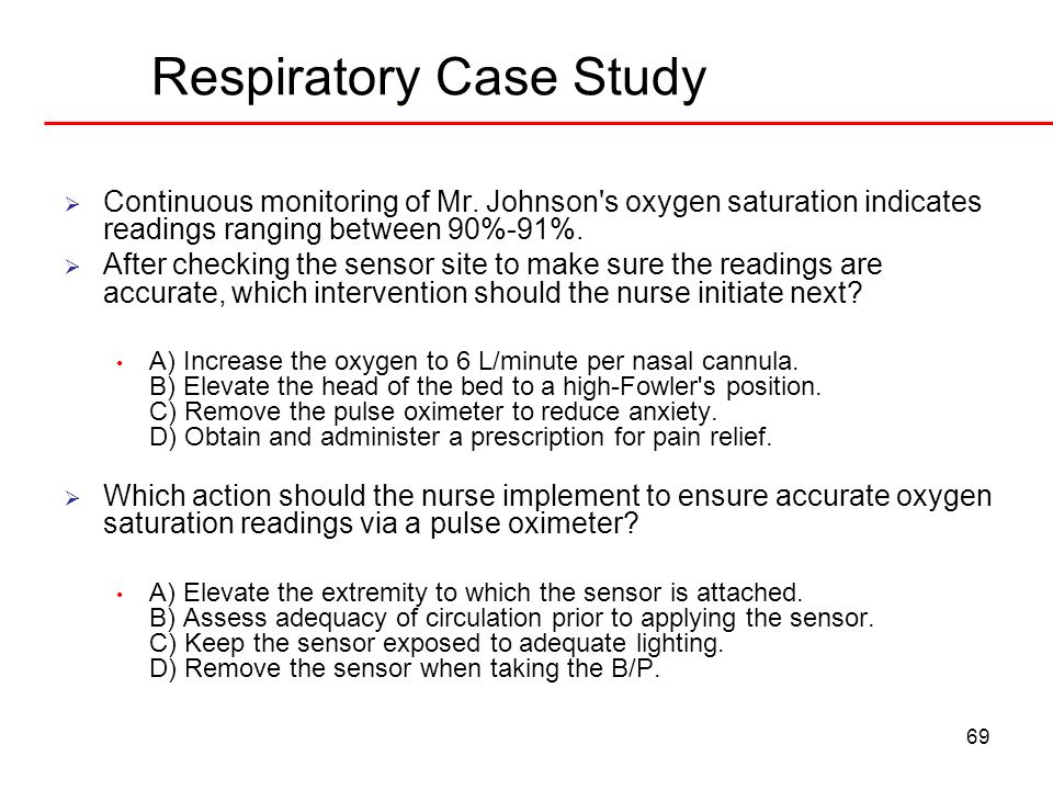 respiratory case study presentation A chest radiograph will show the extent of pulmonary disease (in this case it chest radiograph revealed segmental infiltrates, some hilar adenopathy and a.