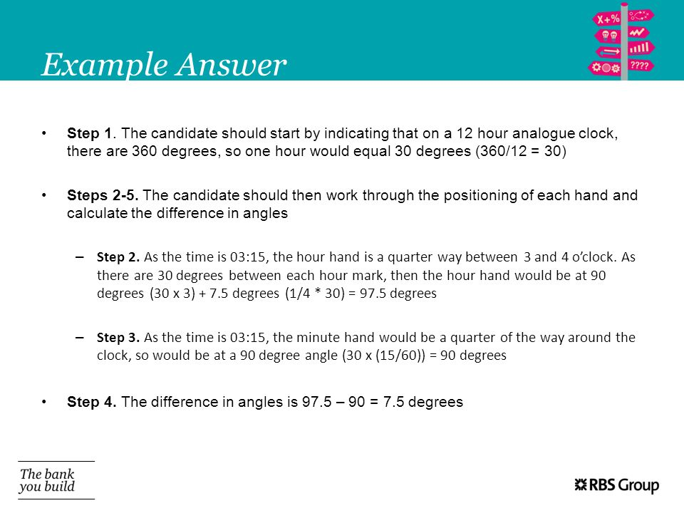 Example Answer