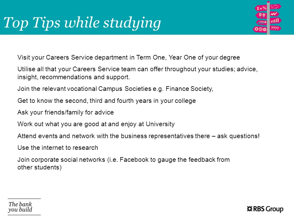 Top Tips while studying