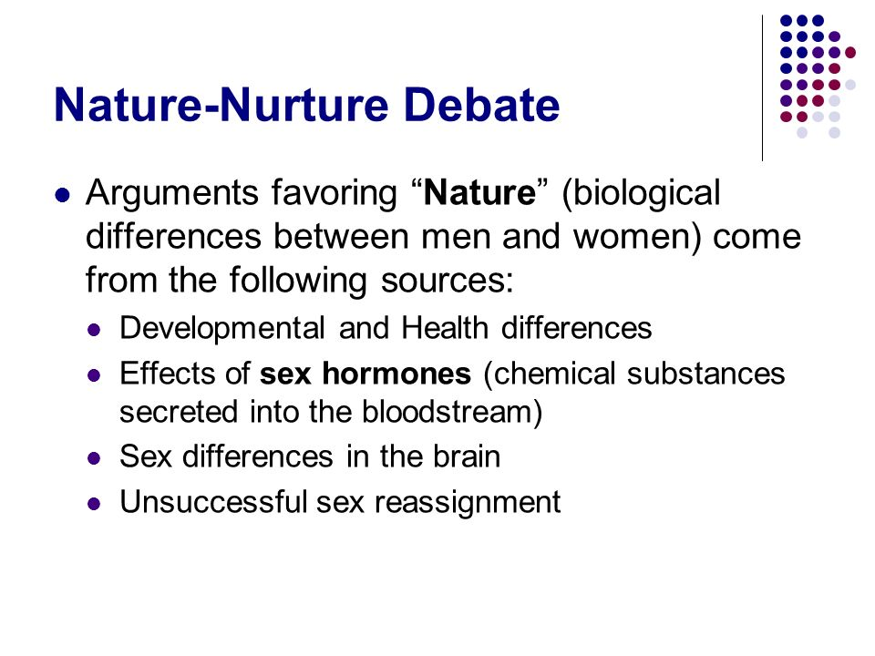 Nature-Nurture Debate