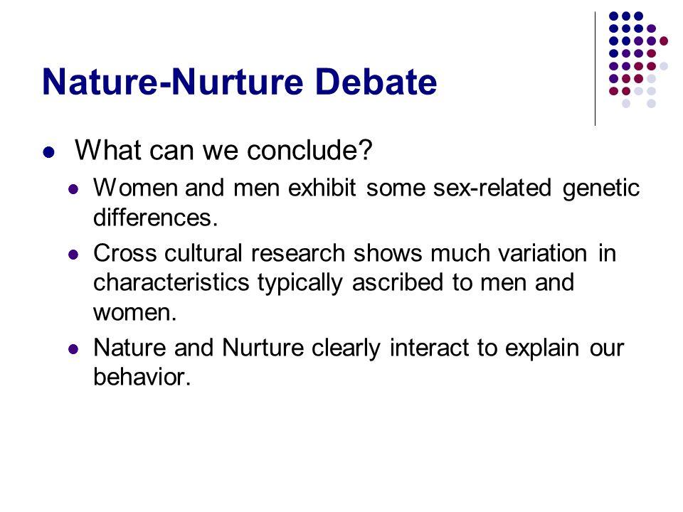 Nature-Nurture Debate