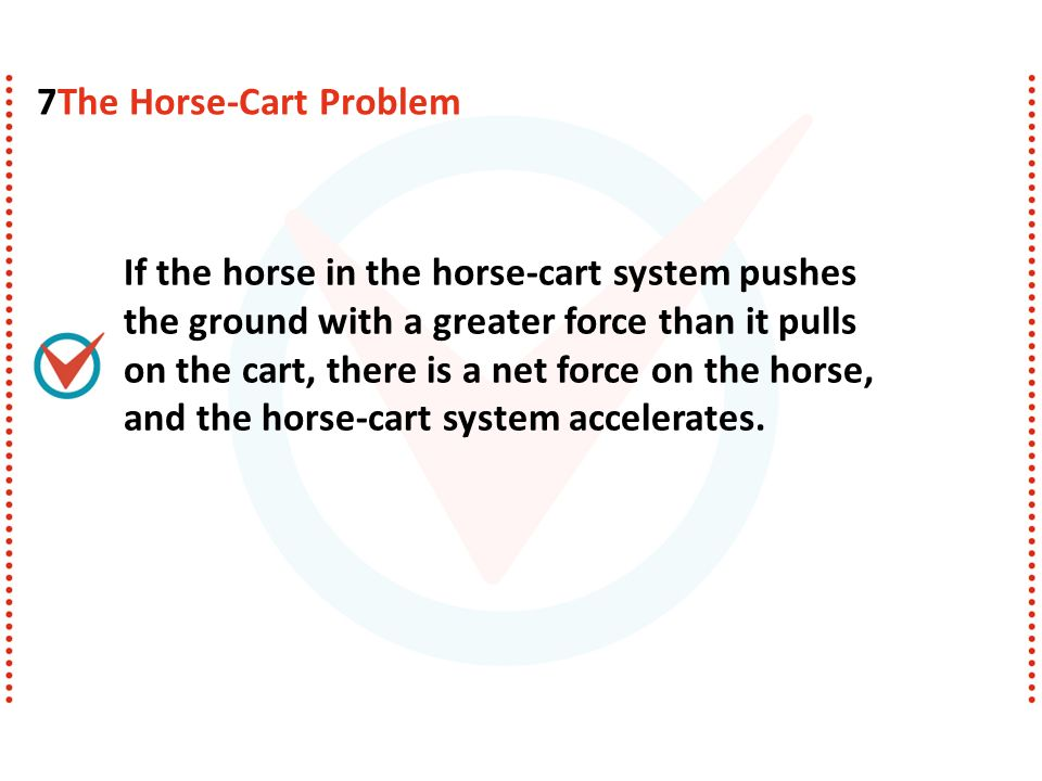7The Horse-Cart Problem