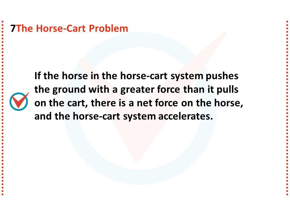 7The Horse-Cart Problem