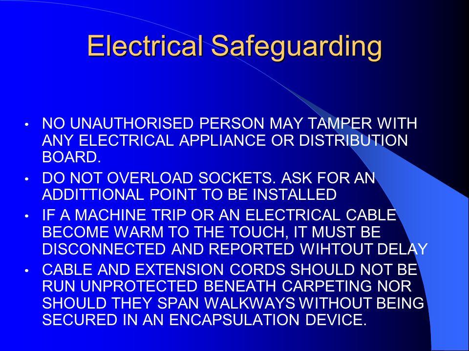 Electrical Safeguarding