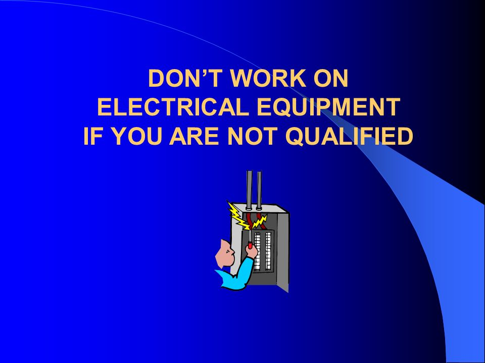 IF YOU ARE NOT QUALIFIED