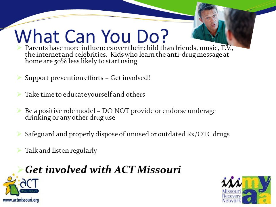 What Can You Do Get involved with ACT Missouri