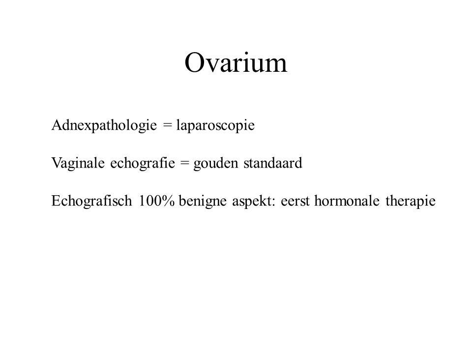 Ovarium Adnexpathologie = laparoscopie