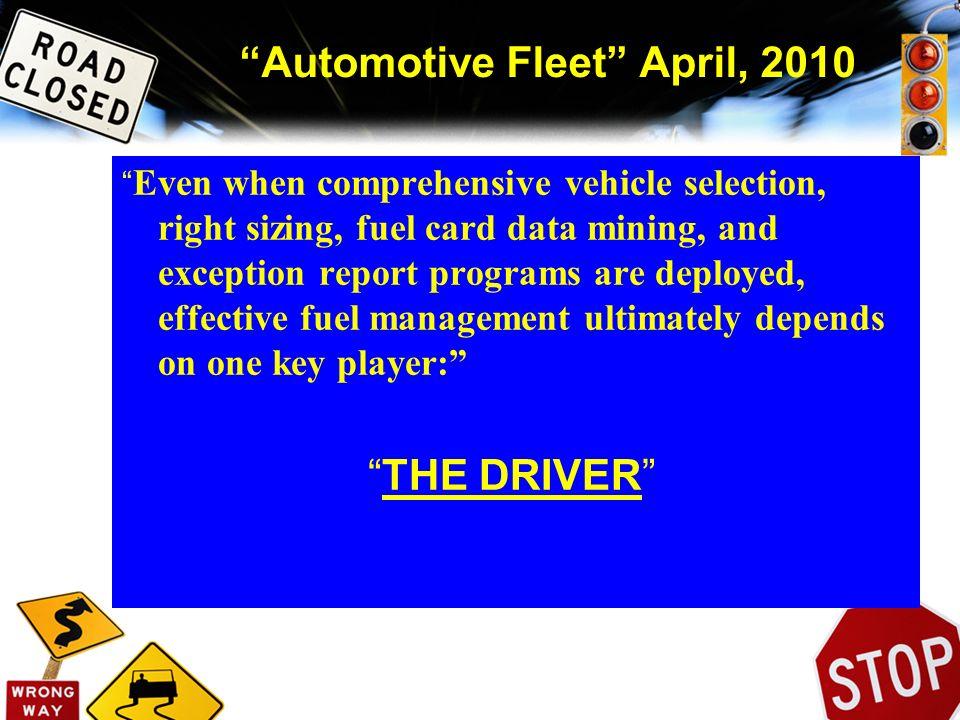 Automotive Fleet April, 2010