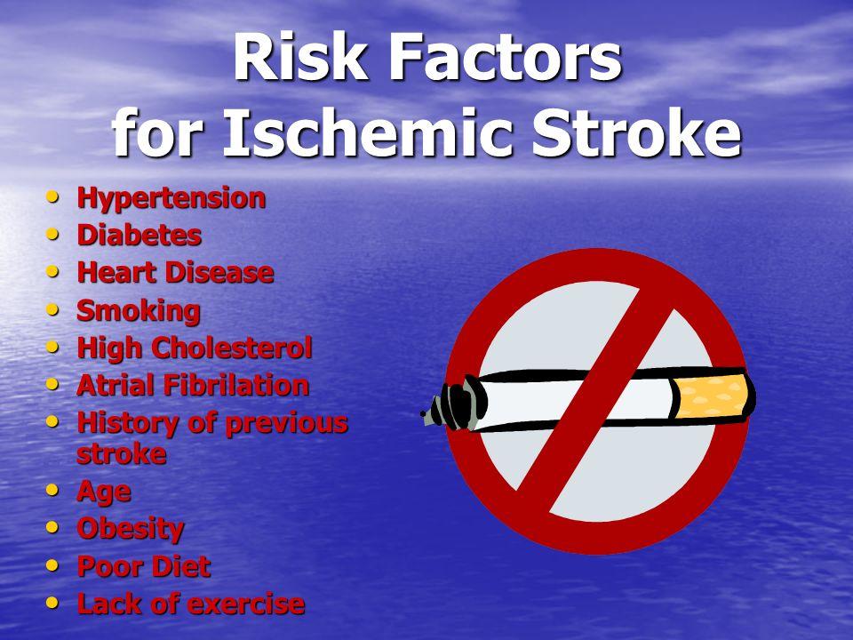 Risk Factors for Ischemic Stroke