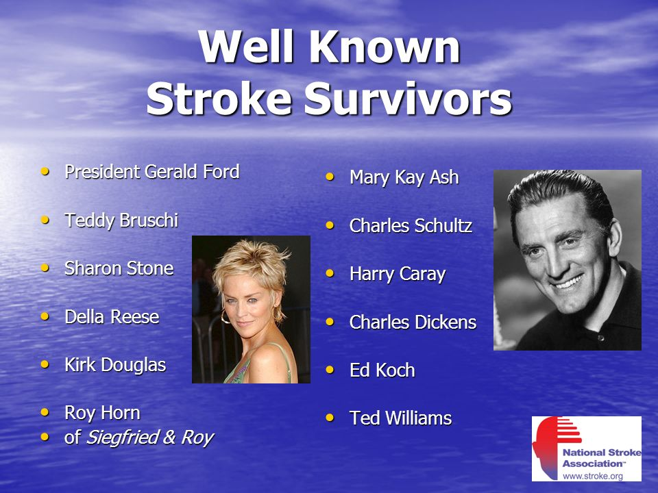Well Known Stroke Survivors