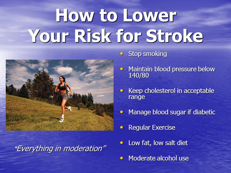 How to Lower Your Risk for Stroke