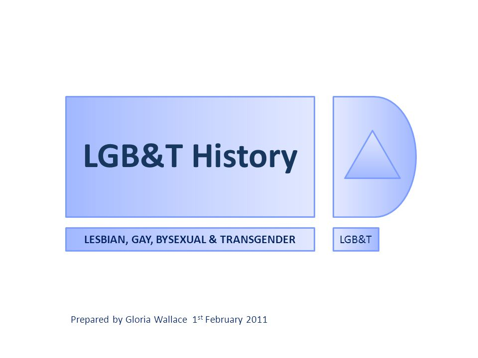 LESBIAN, GAY, BYSEXUAL & TRANSGENDER