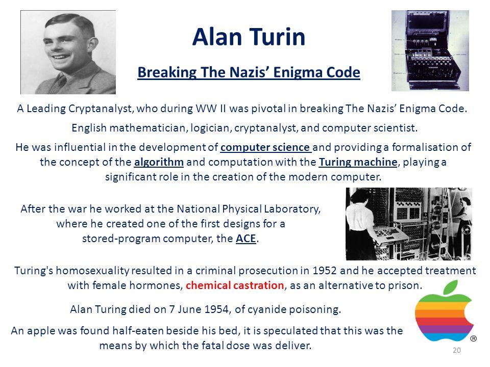 Alan Turin Breaking The Nazis' Enigma Code