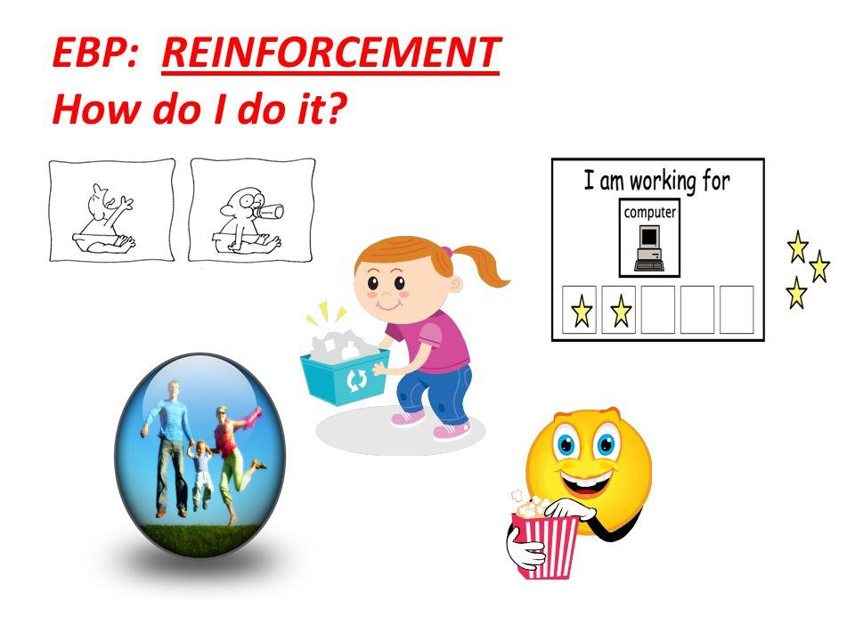 EBP: REINFORCEMENT How do I do it