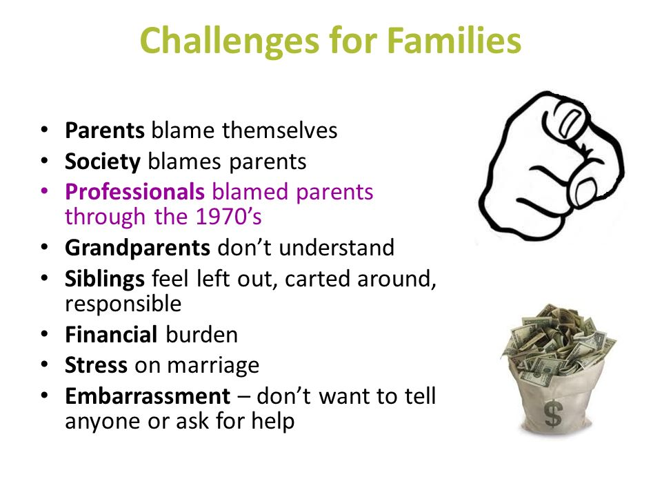 Challenges for Families