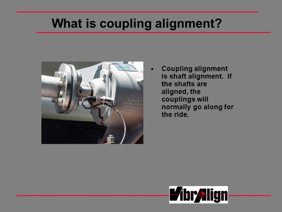 What is coupling alignment