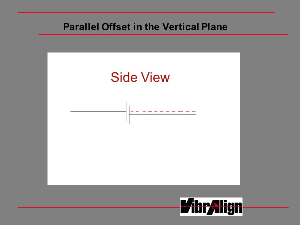 Parallel Offset in the Vertical Plane