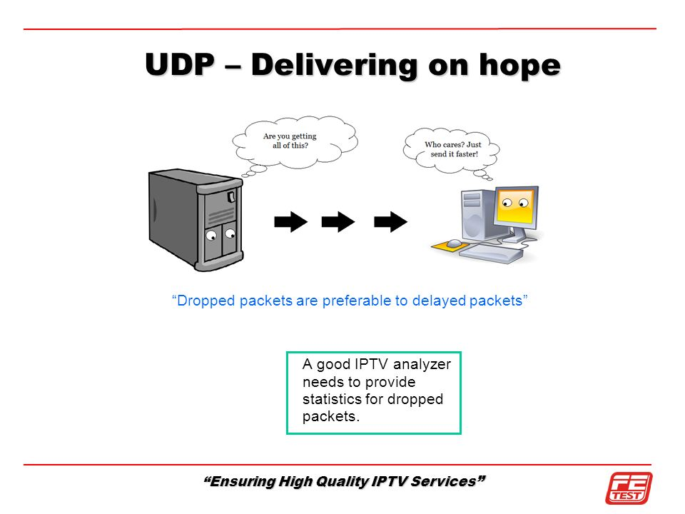 UDP – Delivering on hope