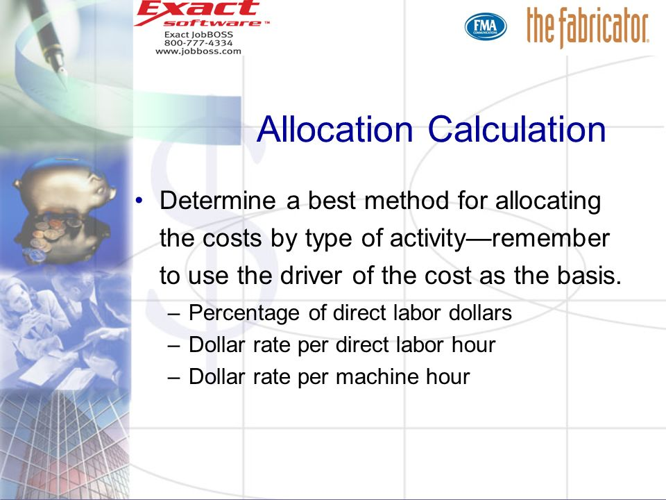 Cost Allocation Methods For Accurate Costing to Maximize Profits