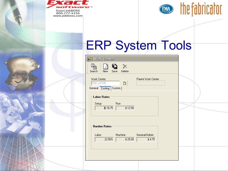 ERP System Tools