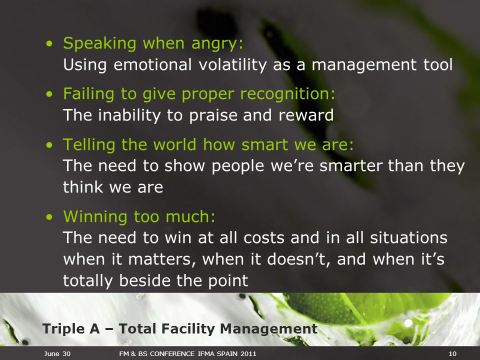 Speaking when angry: Using emotional volatility as a management tool
