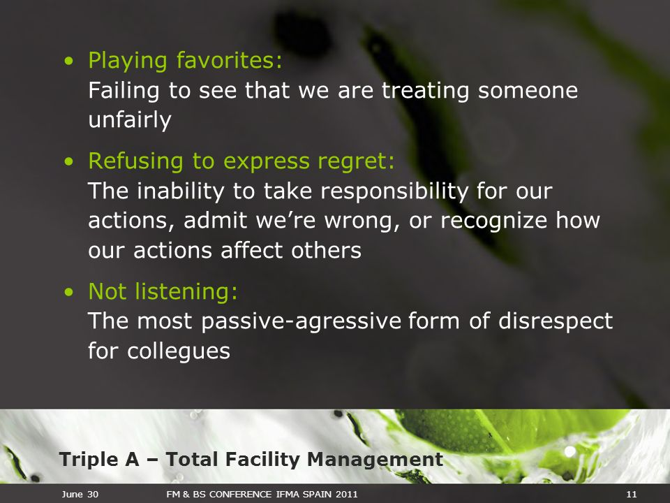 Playing favorites: Failing to see that we are treating someone unfairly