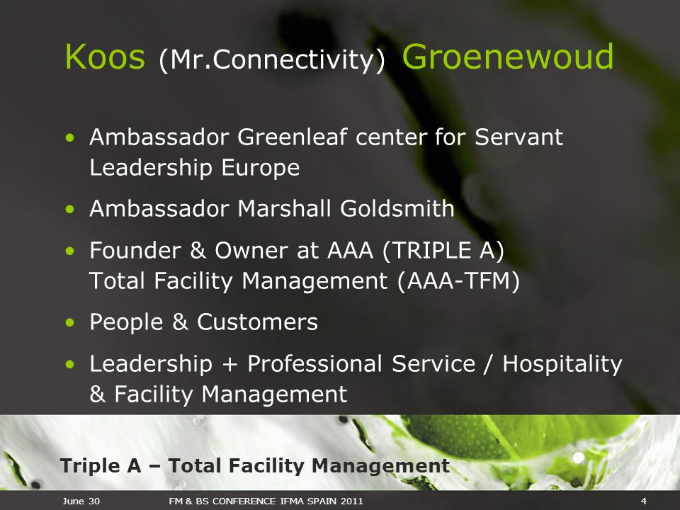 Koos (Mr.Connectivity) Groenewoud