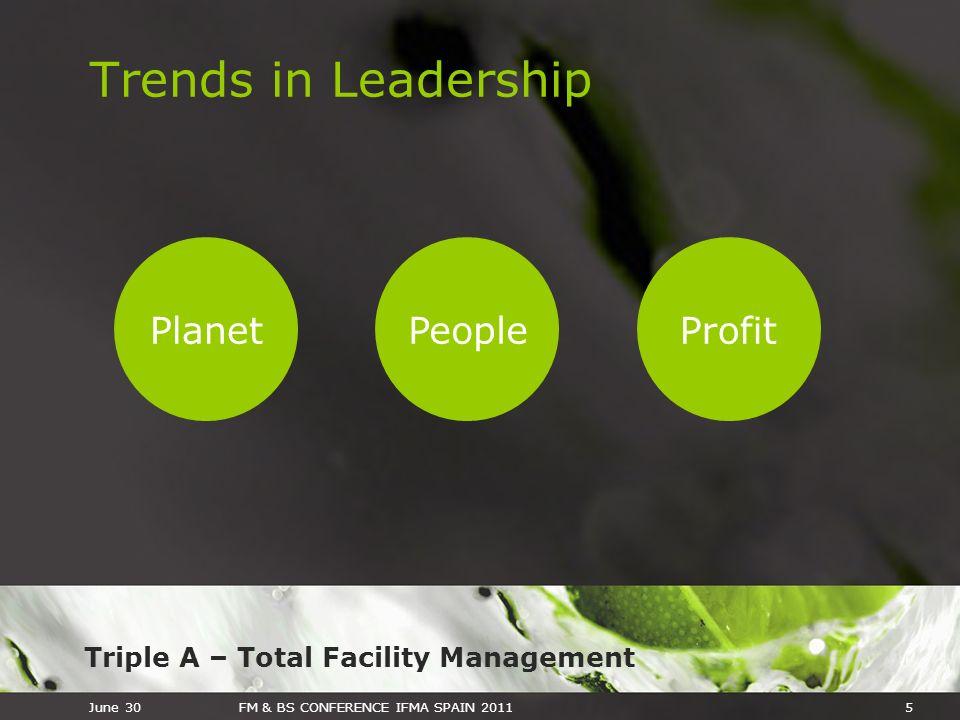 Trends in Leadership Planet People Profit 5 June 30