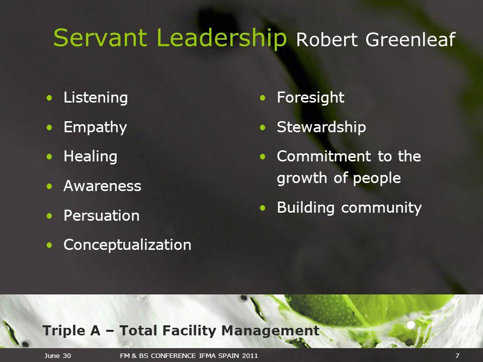 Servant Leadership Robert Greenleaf