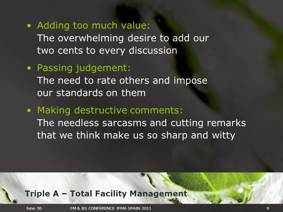 Adding too much value: The overwhelming desire to add our two cents to every discussion
