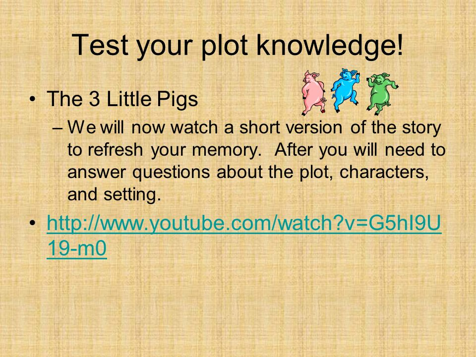 Test your plot knowledge!
