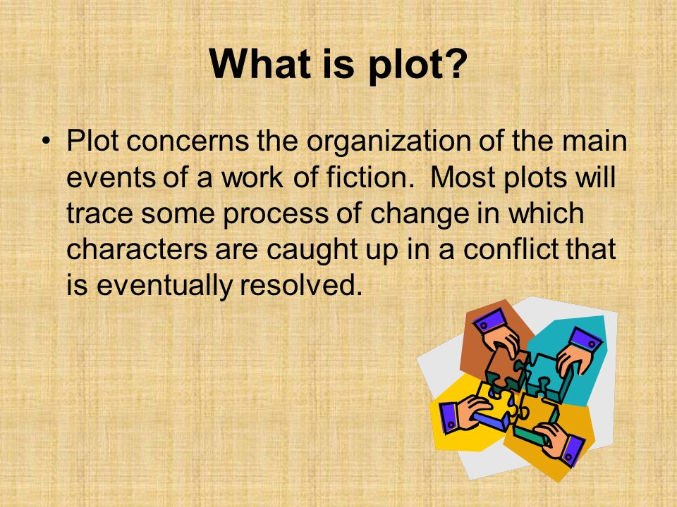 What is plot
