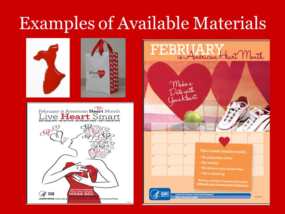 Examples of Available Materials