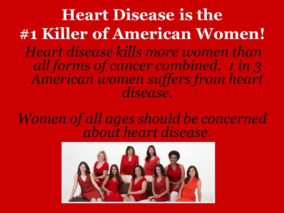 #1 Killer of American Women!