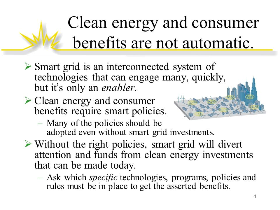 Clean energy and consumer benefits are not automatic.