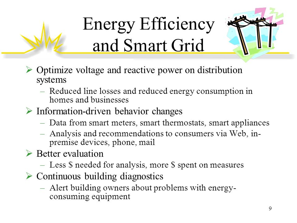Energy Efficiency and Smart Grid