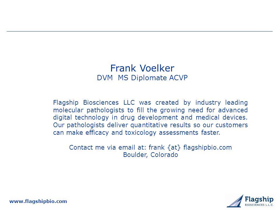Frank Voelker DVM MS Diplomate ACVP