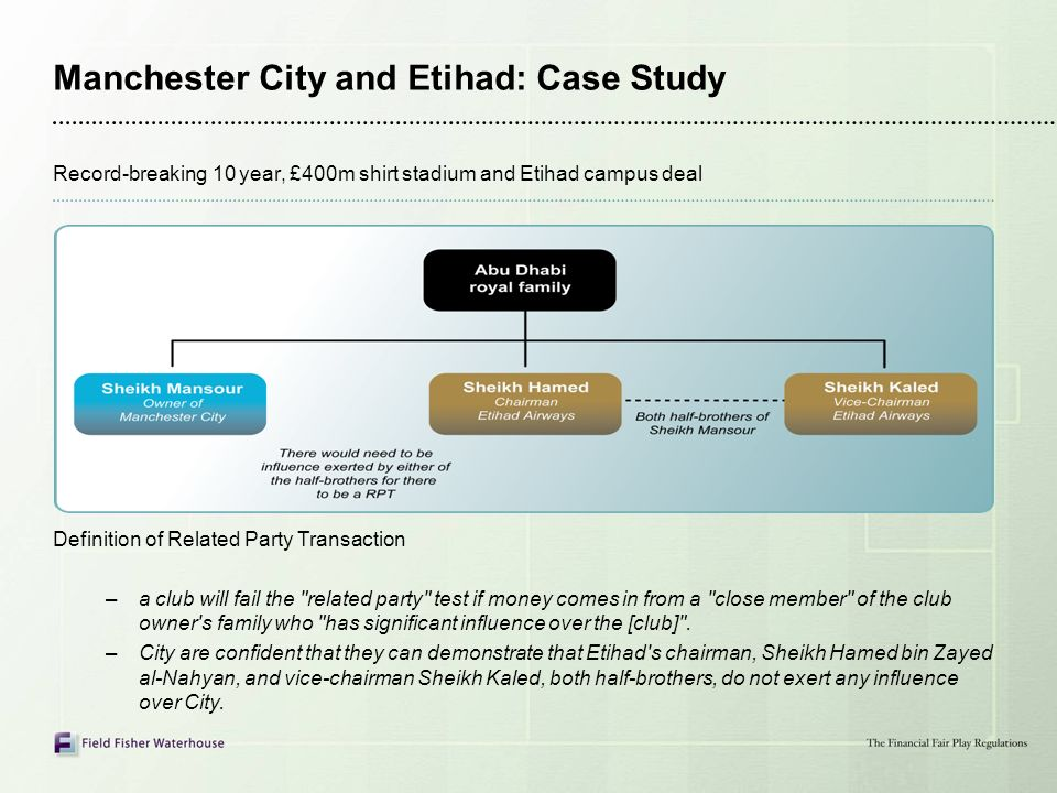 Manchester City and Etihad: Case Study