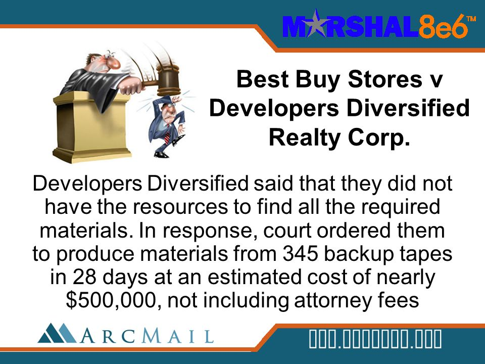 Best Buy Stores v Developers Diversified Realty Corp.