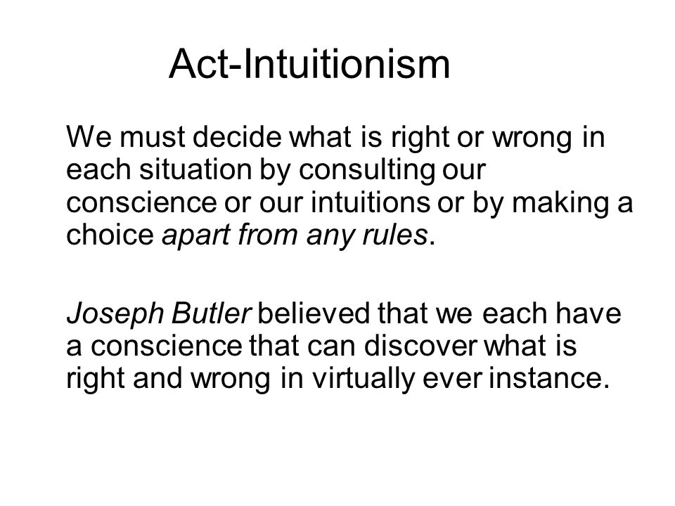 Act-Intuitionism