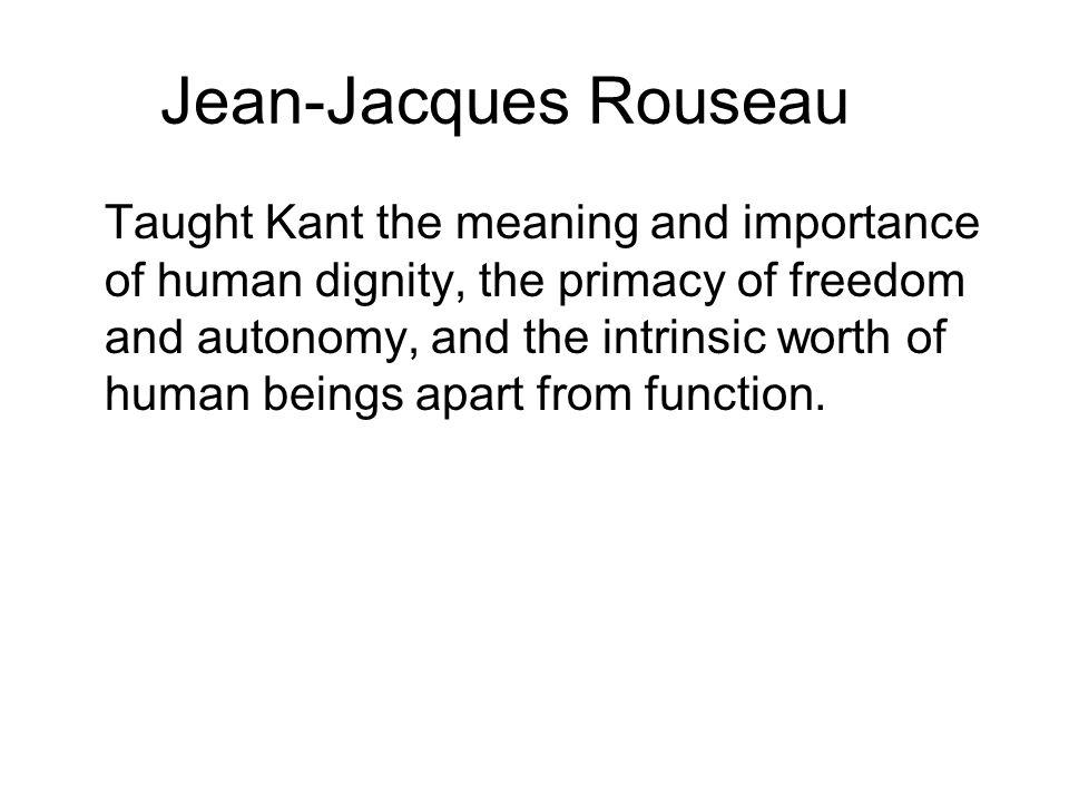 Jean-Jacques Rouseau