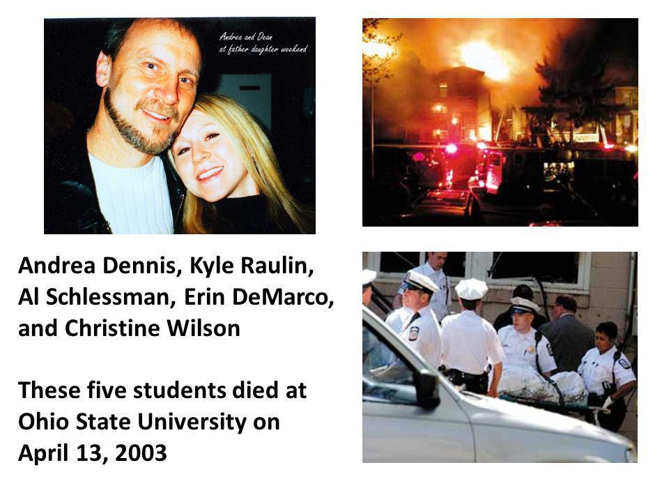 Andrea Dennis, Kyle Raulin, Al Schlessman, Erin DeMarco,