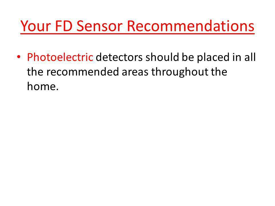 Your FD Sensor Recommendations