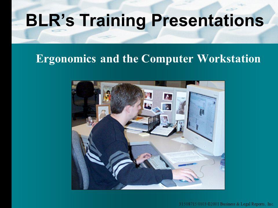 BLR's Training Presentations