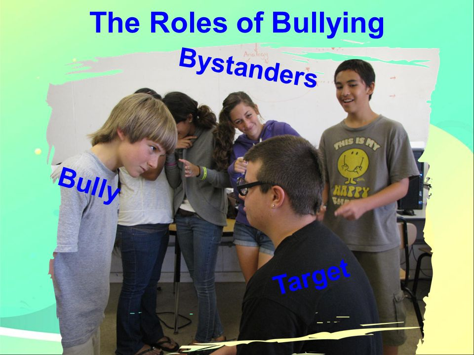 The Roles of Bullying Bystanders Bully Target