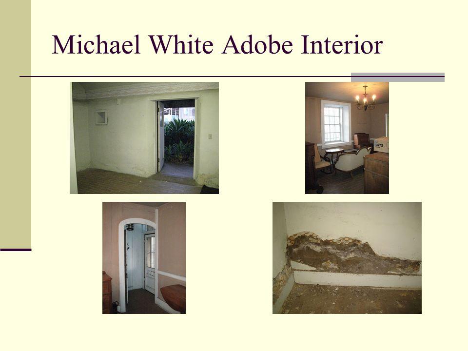 Michael White Adobe Interior